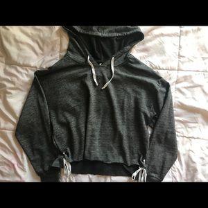 Tops - Pullover Crop Hoodie